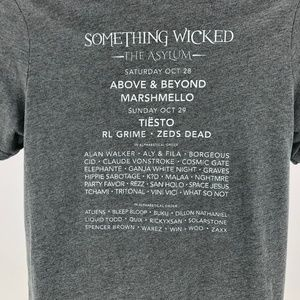 Bella Canvas Shirts - Something Wicked Music Festival 2012 Gray T-Shirt